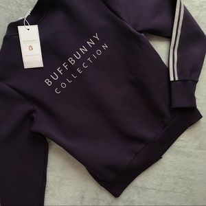 NWT BuffBunny Collection Blackberry Bomber Jacket